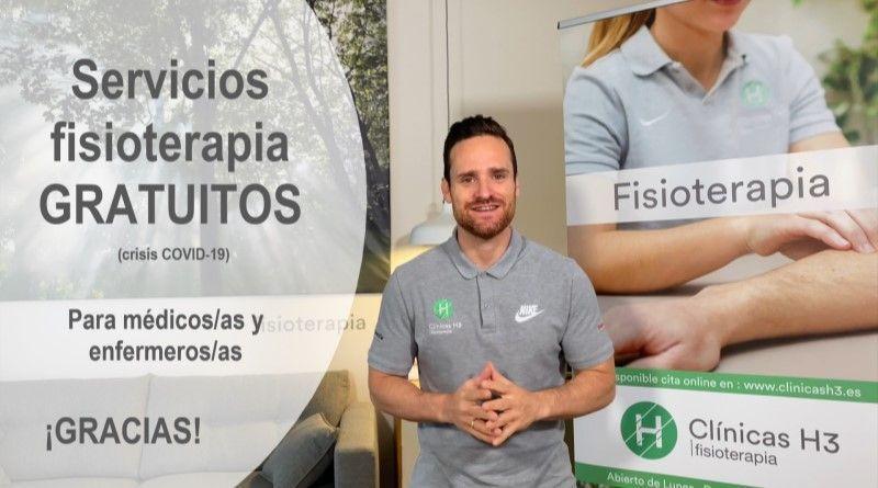 Clínicas H3 fisioterapia solidaria en Madrid - Covid 19