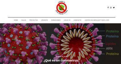 Justsavelives y su lucha contra el Coronavirus