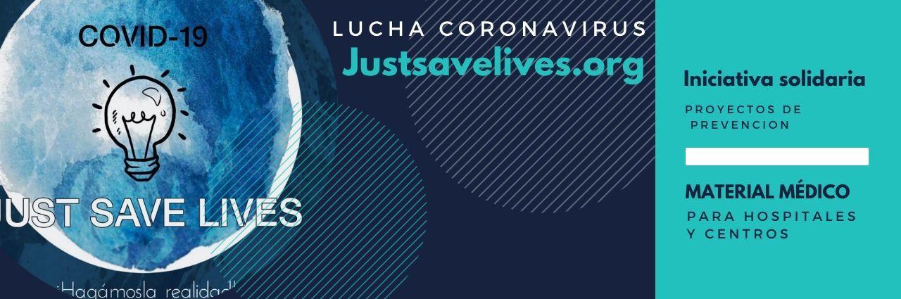 Justsavelives iniciativa solidaria ayuda coronavirus - Fisio para héroes