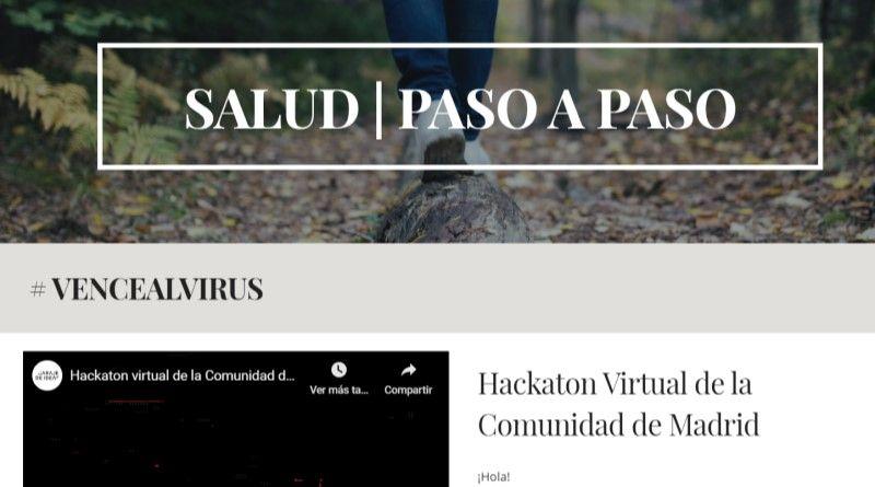 Salud paso a paso - Iniciativa deportiva solidaria coronavirus
