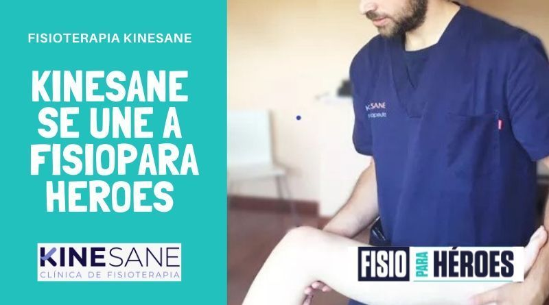 Kinesane fisioterapia se une a fisio para heroes