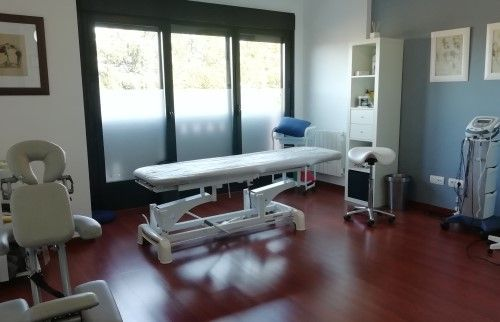 Sala de tratamiento Kinesane en Ávila